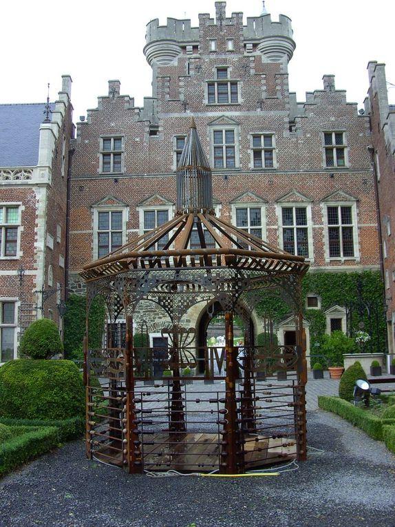 Château médiéval du brabant flamand