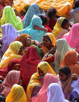 Quelques clichés d'Inde, montrant l'éclat d'une société.