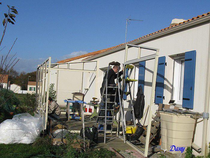 Ma maison en construction chez le constructeur les Maisons Privat