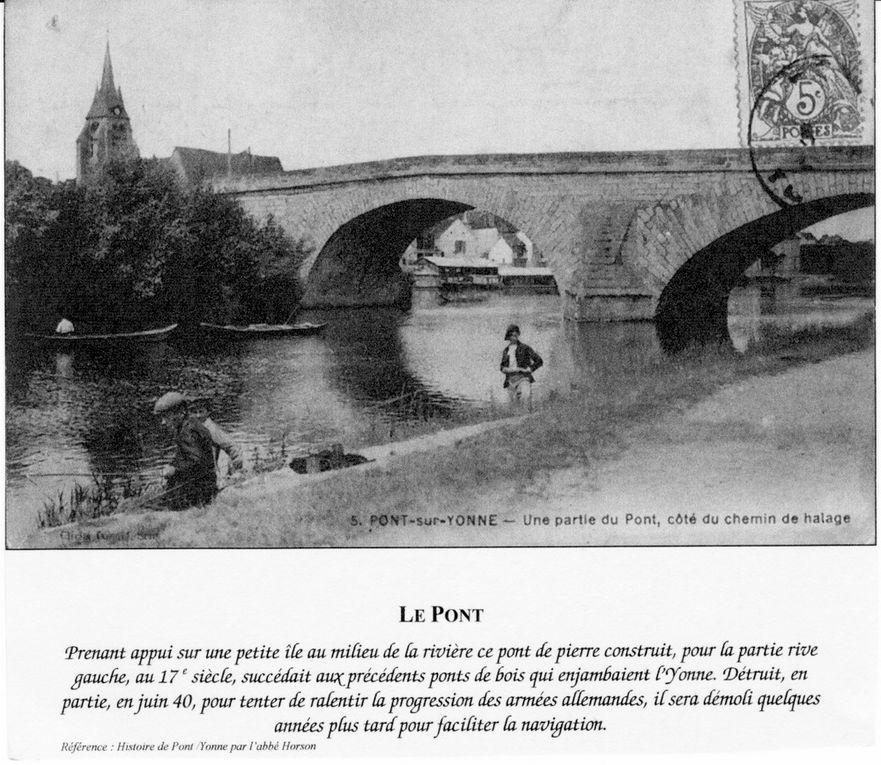 cartes postales anciennes de Pont-sur-Yonne