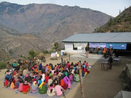 Awareness Camp organised in Bagan on 29 November 2009