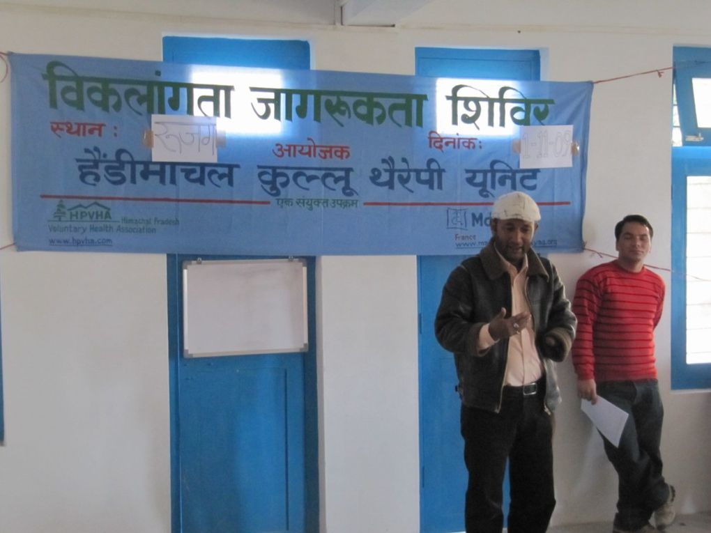 Second Awareness Camp organised by the Handimachal Kullu Therapy Unit, 1st November 2009
