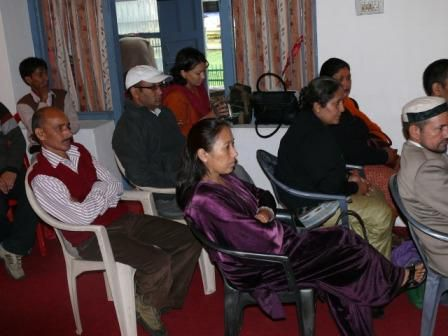 Inauguration day of the Handimachal Kullu Therapy Unit, 09/09/2009