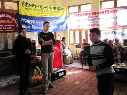 The Handimachal Kullu Therapy Unit team was invited to participate in WDD 2009