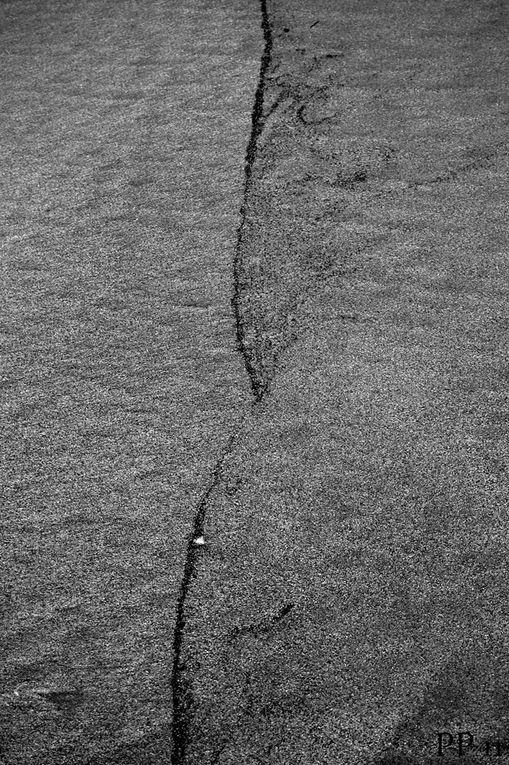 photos de sable à la plage