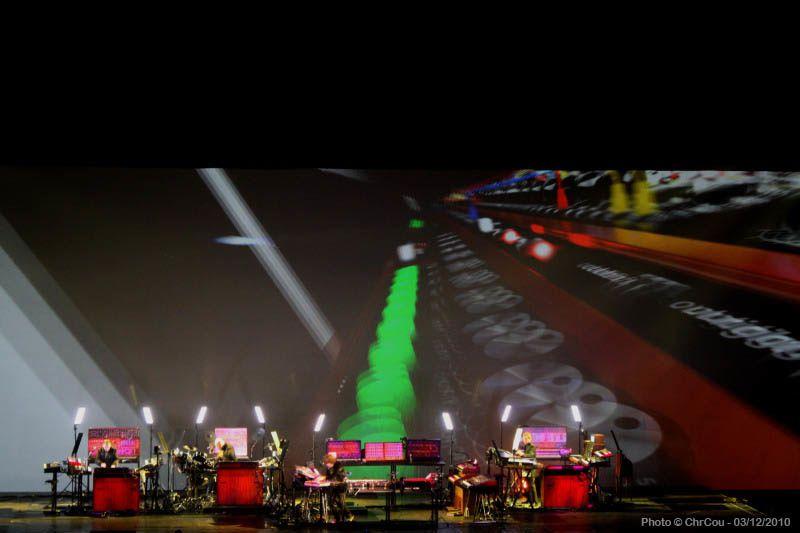 Photos du concert de Jean michel Jarre au Palais Des Sports d'Anvers en Belgique, le vendredi 3 décembre 2010.Toutes photographies : © ChrCou