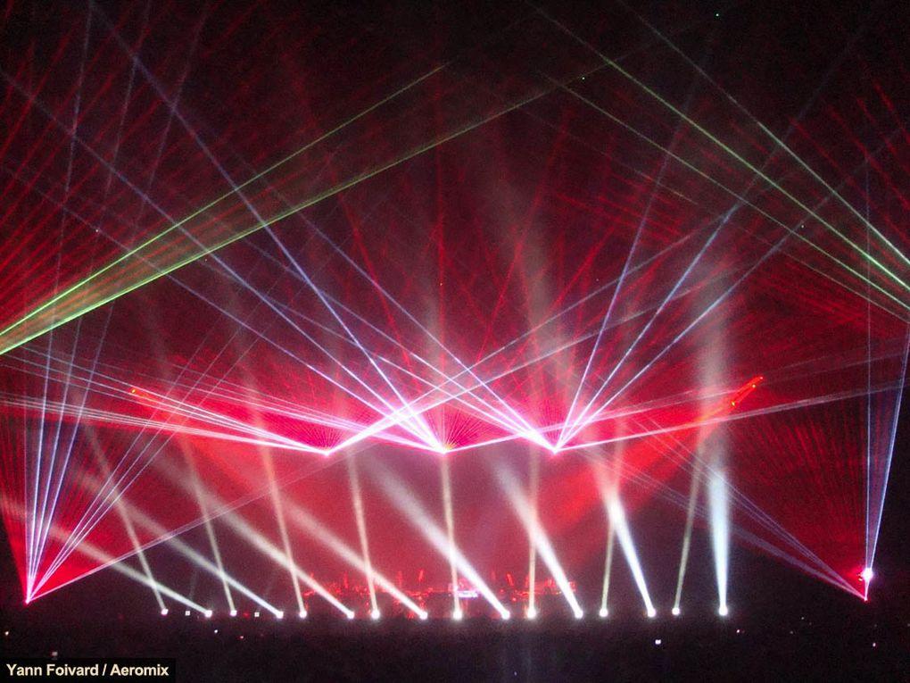 Photos du concert de Jean Michel Jarre au Palais Omnisports de Paris-Bercy le 25 mars 2010.Toutes photographies : © Yann Foivard / Aeromix