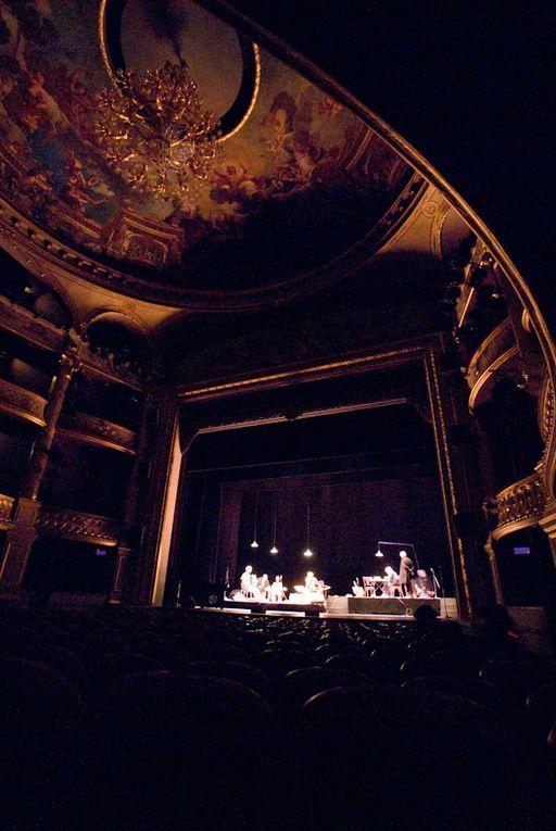 Gérard Pierron en concert au théâtre d'Angers.
