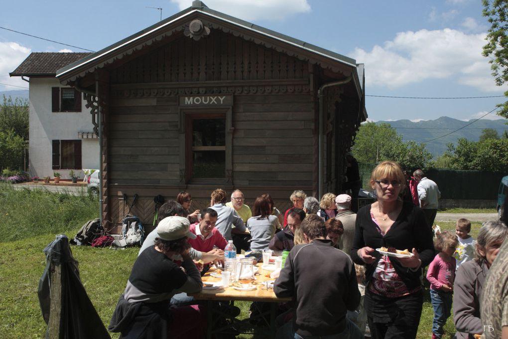 photos prises lors de la randonnée decouverte de Mouxy du 13 mai 2012