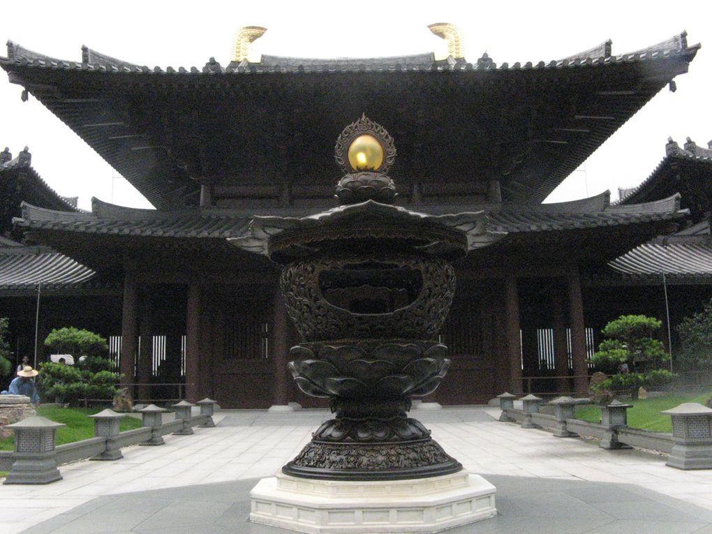 Couvent de Chi LinMonastère Po LinBouddha Tian TanMonastère des Dix Mille Bouddhas