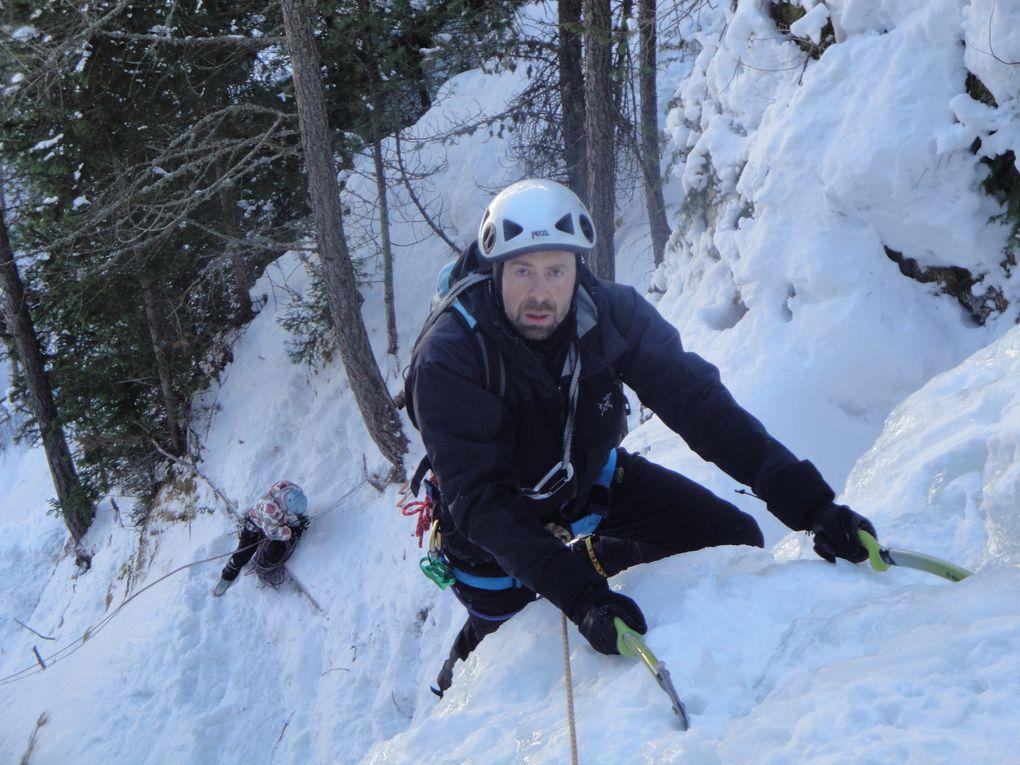 dernier jour de l' année 2010,belle demi journée de glace