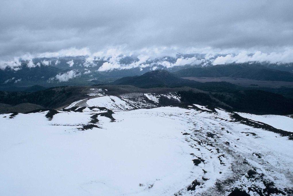 """Voyage """"ski de rando sur les volcans chiliens"""" en octobre 2004. Merci à Philippe Gabarrou pour le merveilleux voyage ! Ce que je ne savais pas c'est qu'un petit passager clandestin a fait tout le voyage avec nous (mais n'a montré sa frimousse qu'en"""