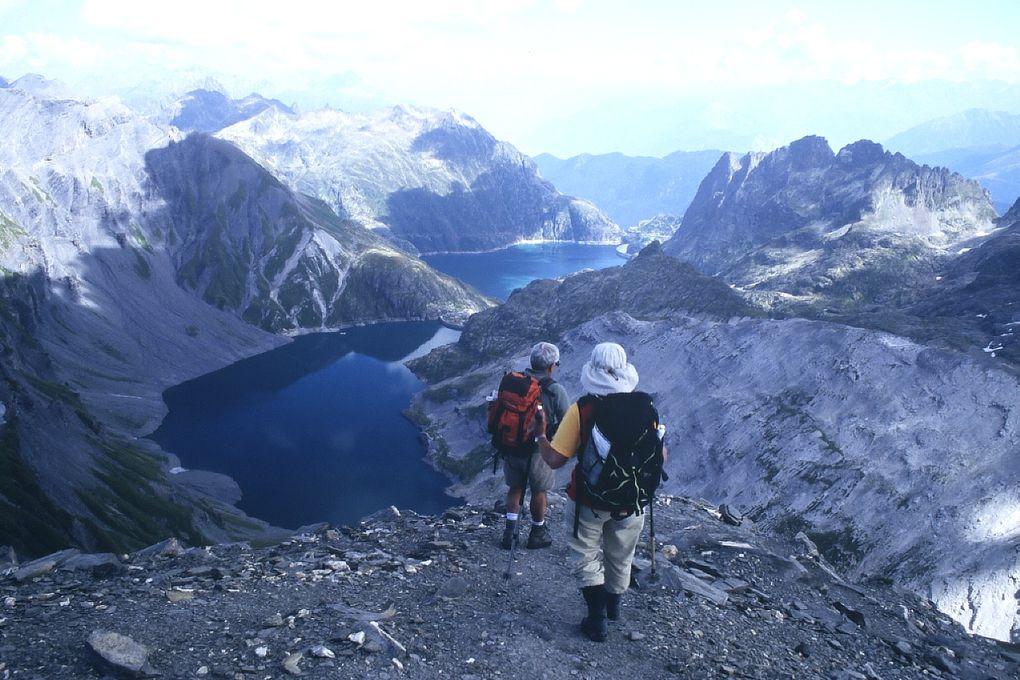 du simple besoin de prendre l'air  aux vraies randos... vaste aperçu de cette belle haute Savoie !