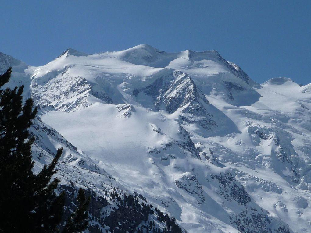 """Magnifique raid à skis dans ce baeu massif réputé """"pas facile"""". Pas de Piz Bernina, mais des souvenirs plein la tête !"""