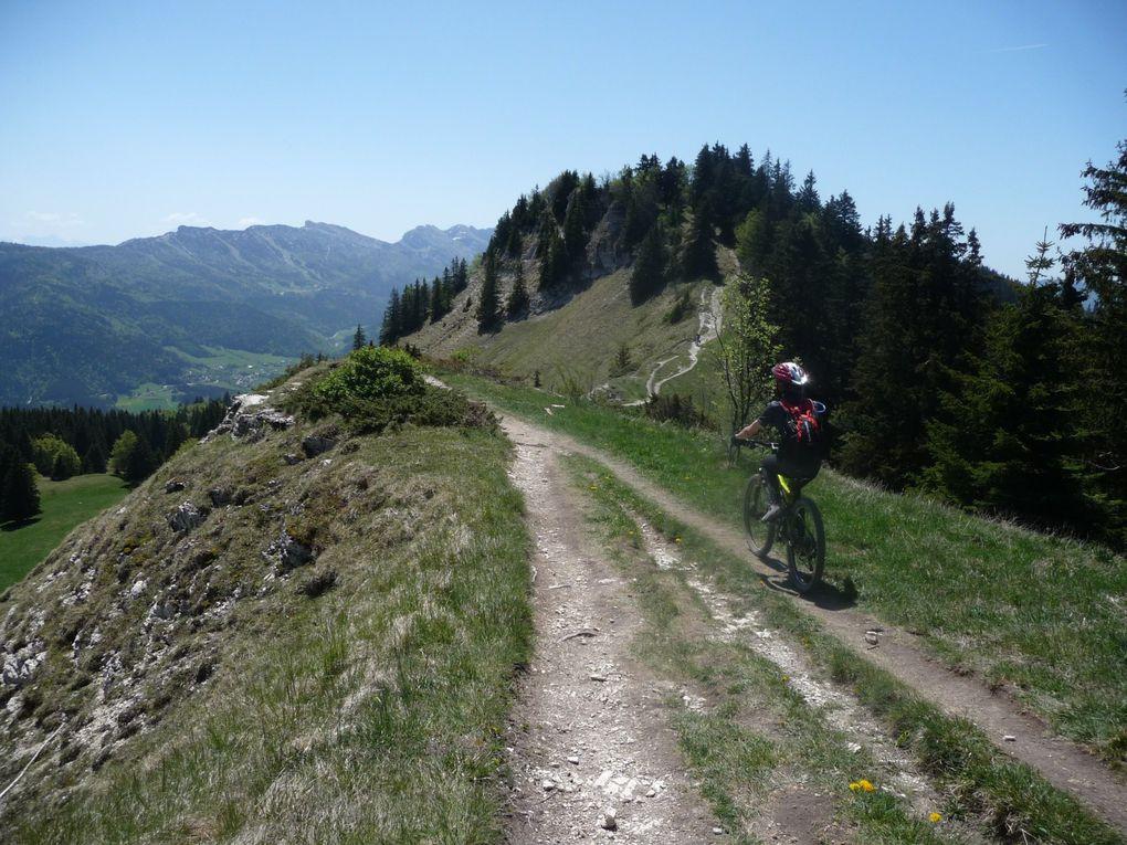 quelques unes de mes balades VTT, en Haute Savoie ou ailleurs !