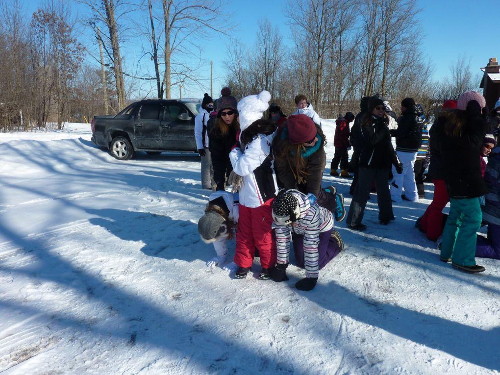 Camp d'hiver YMCA