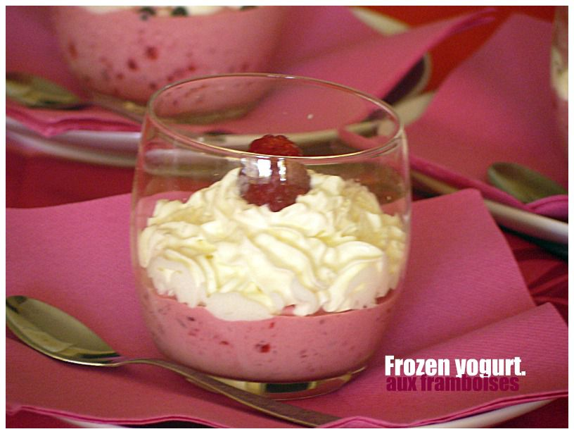 Album - FROZEN-YOGURT-AUX-FRAMBOISES