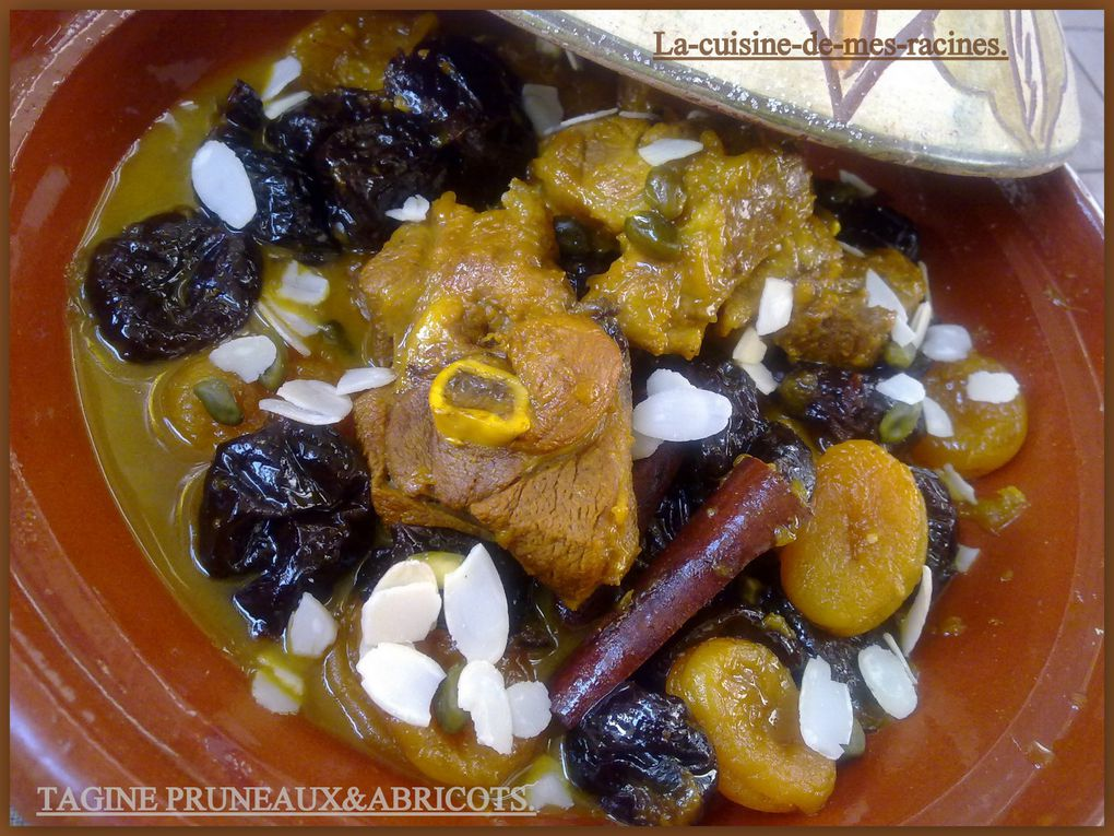 Album - Tagine-Pruneaux-Abricots.