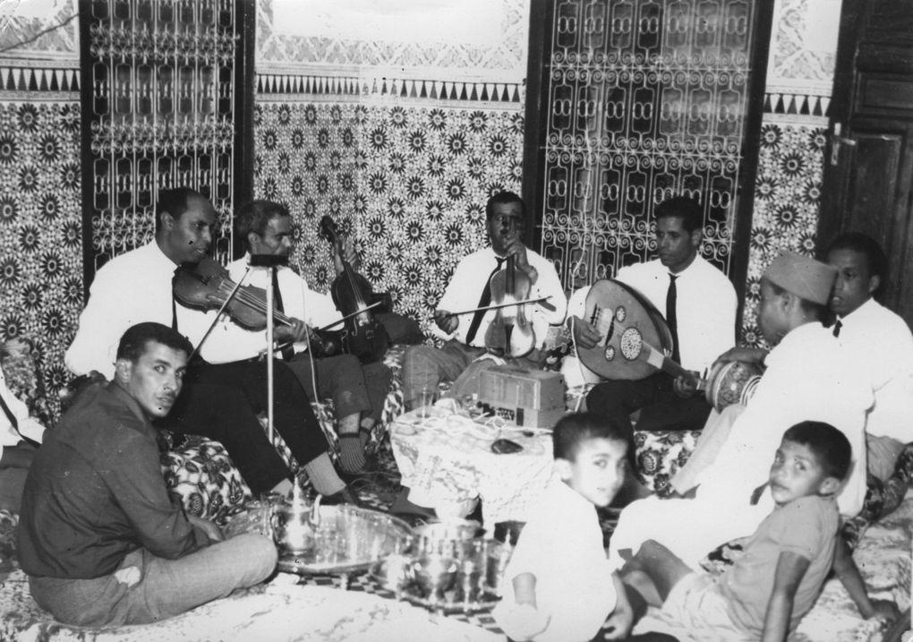 بعض شيوخ الملحون المغربي