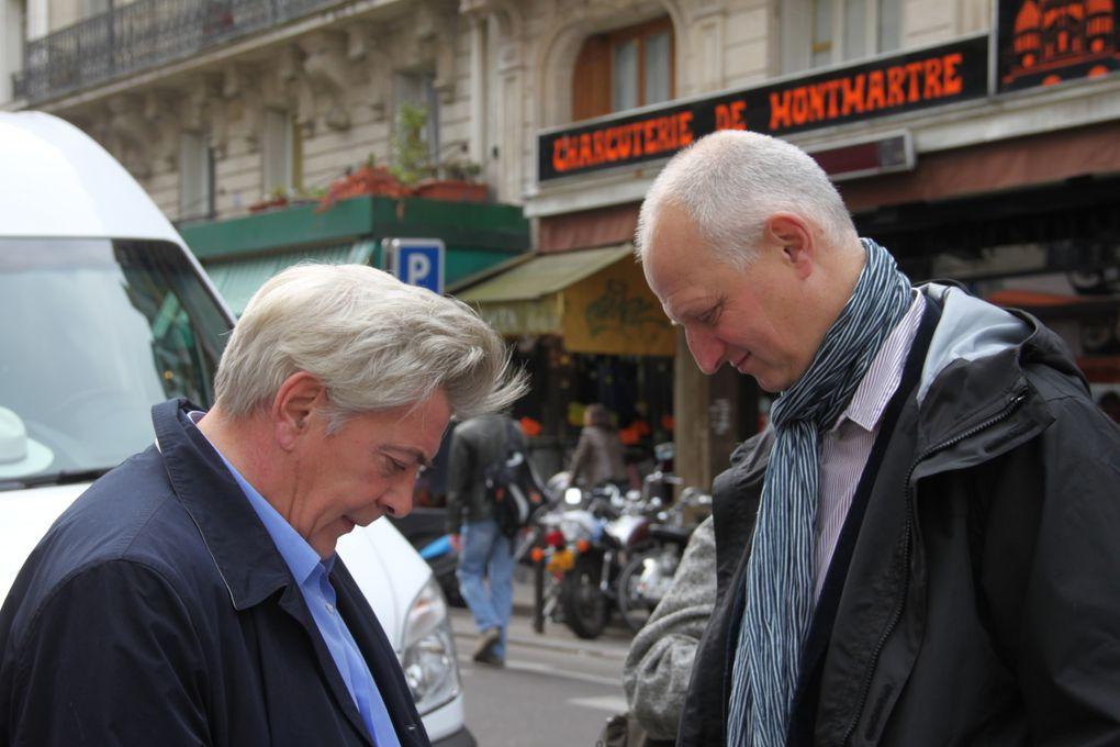 J'étais sur le marché du Poteau samedi dernier avec Daniel Vaillant, le maire du 18e, Myriam El Khomri et les militants de JBC.