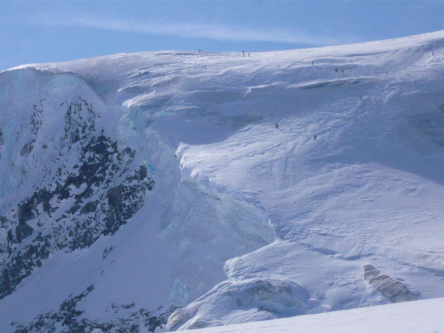 Photos des différentes étapes de la haute route de Chamonix à Zermatt.