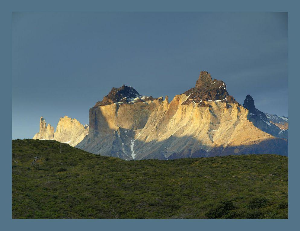 Photos de voyage de Gérard Pétrignet en Patagonie avec un groupe.