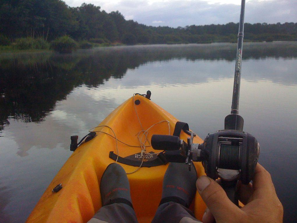 Album - Peche en kayak