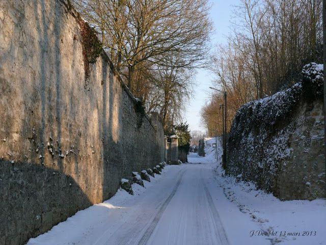 Album - Bucy le long sous la neige par J.Doublet
