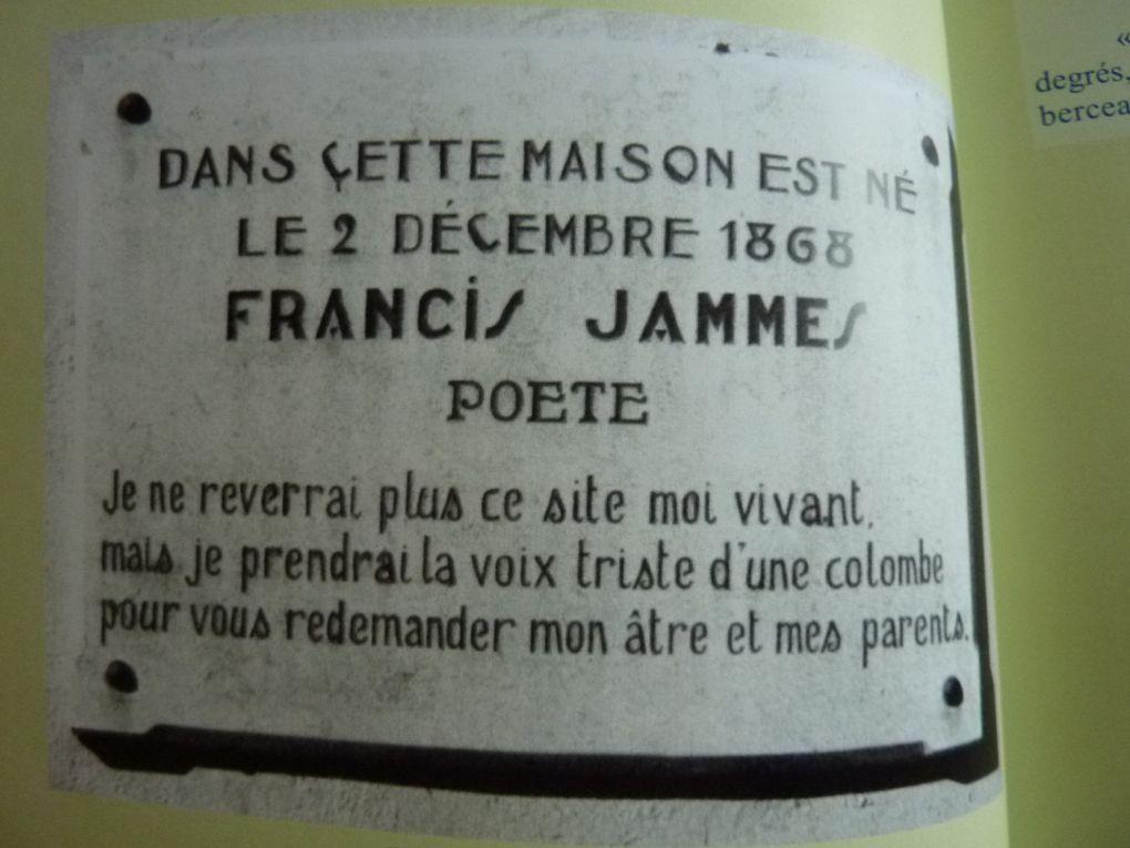 """Des traces du passé de notre """"aïeule"""" Bucyquoise et son époux le poéte Francis Jammes. Beaucoup de ces documents ont été fournis par Mireille Jammes Newman,sa petite fille  et son époux, merci à eux &#x3B;-)"""