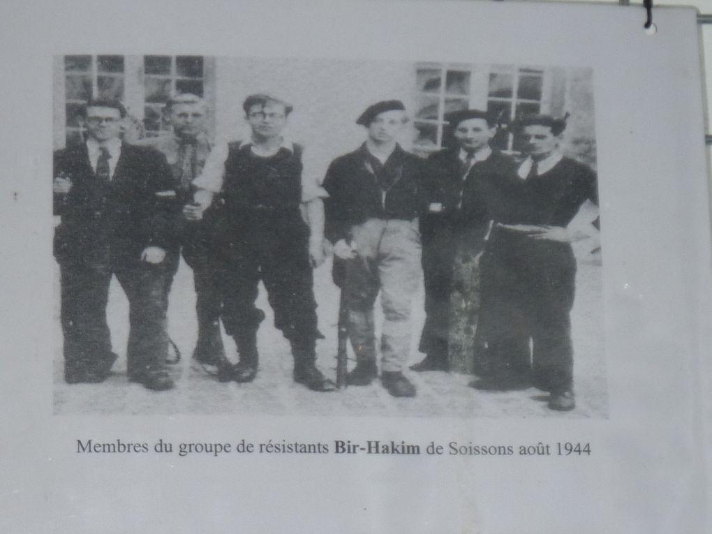 vue du camp de margival sur Soissons ,