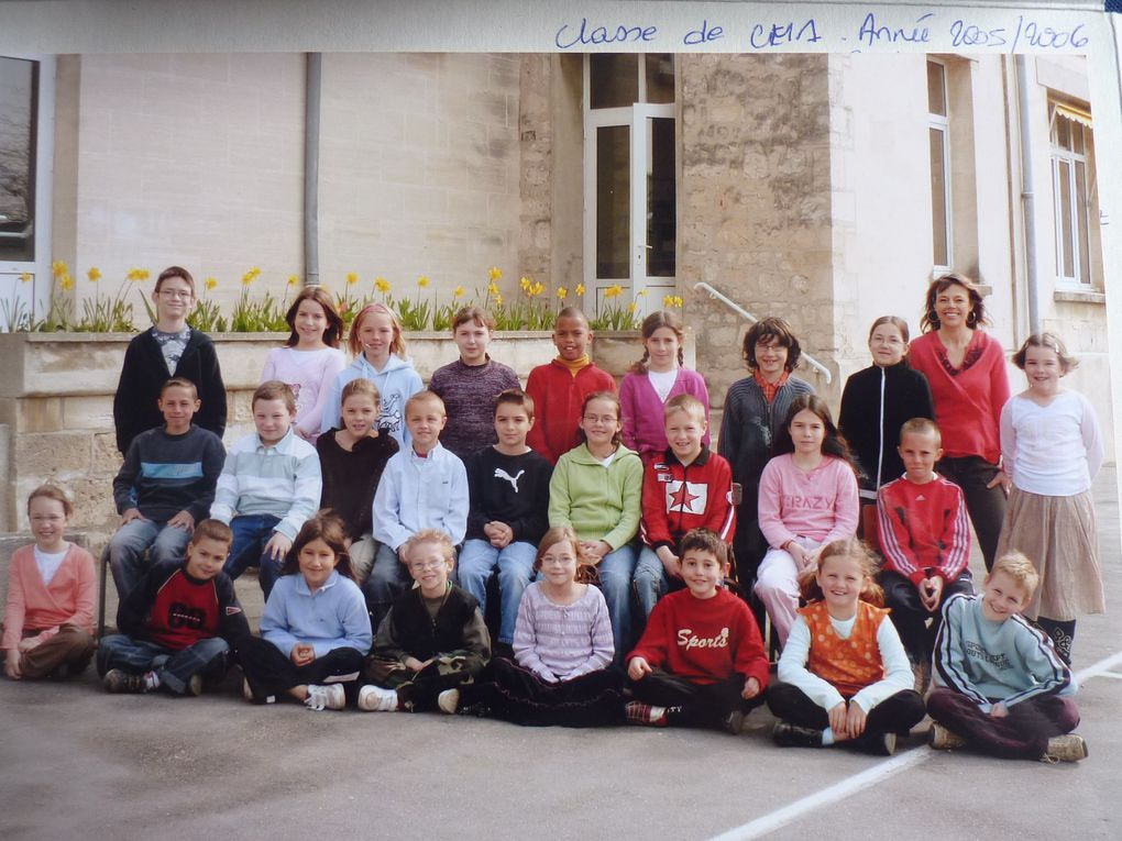 Album - photos de classe annees 2000 Bucy-Le-Long