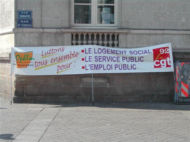 Manif et rassemblement devant les congrés HLM Lille - Nantes - Montpelier - Toulouse....