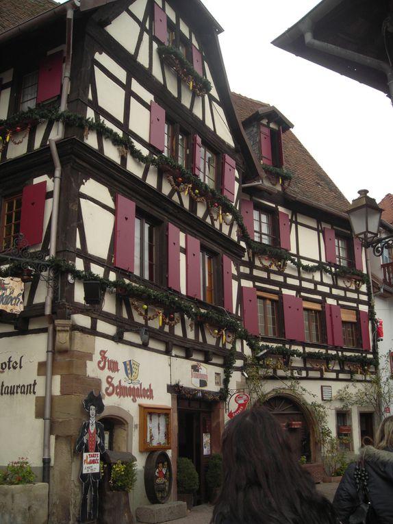 week-en d'ouverture du marché de Noël, Colmar, Strasbourg, Obernai