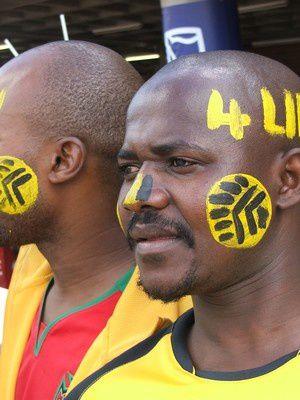 La grande fête du foot sud-africain