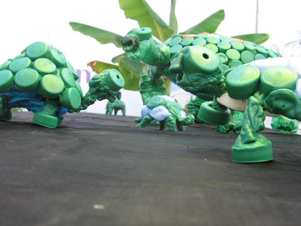 Recyclage artistique de nos déchets ménagers