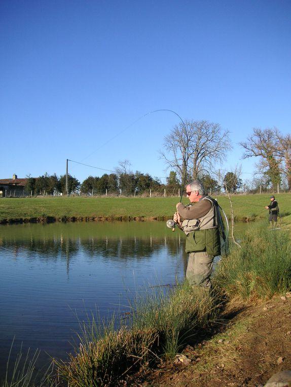 Une journée entre copains à la pêche!