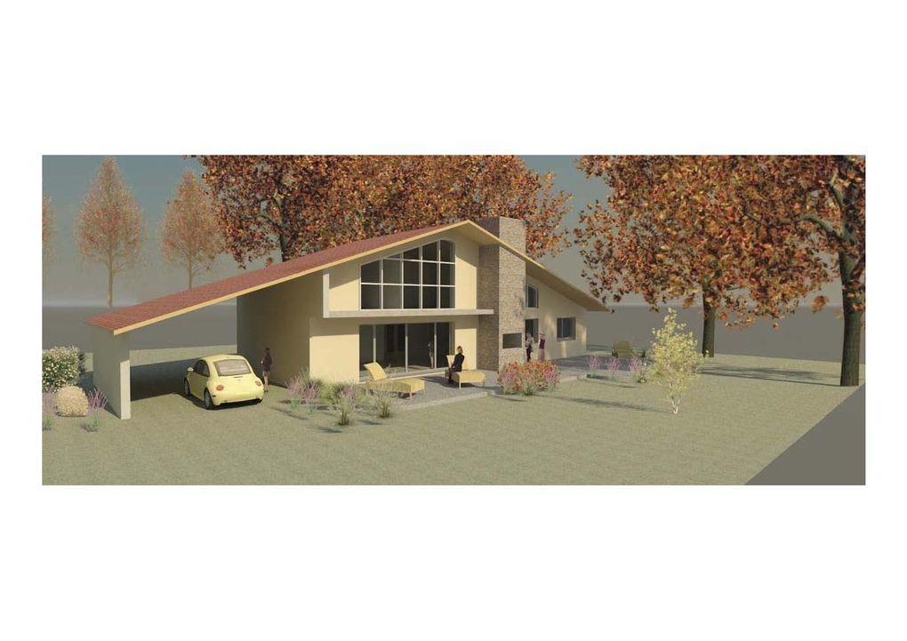 Maison bioclimatique de 190 m2