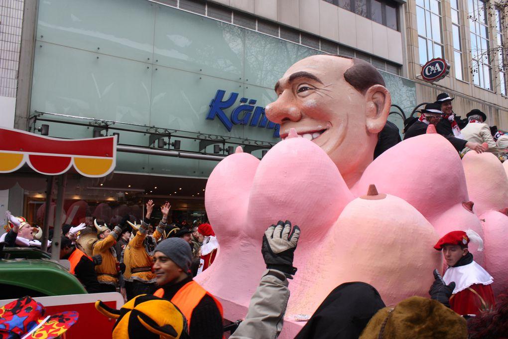L'événement le plus attendu de l'année à Cologne. En 2010, les festivités débutent le 11 février (Weiberfastnacht) et s'achèveront tard dans la nuit de mardi 16 à mercredi 17.