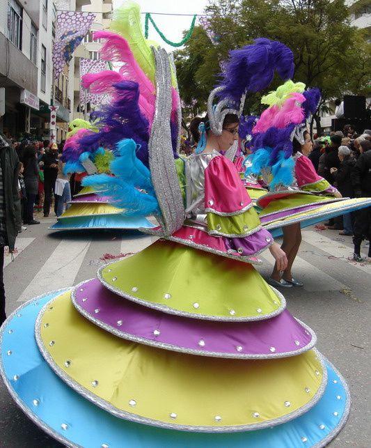 Carnaval Loulé 14 février 2010 ... un des plus ancien Carnaval du Portugal