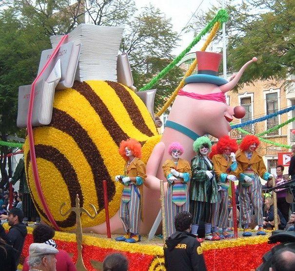 64 000 fêtards au carnaval 2011 à Loulé