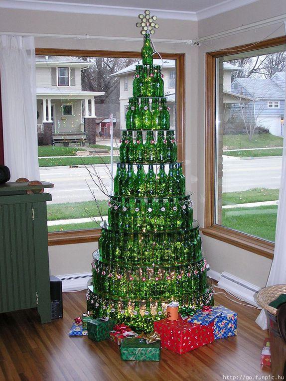 Des sapins de Noël originaux vu sur le web ou ailleurs...