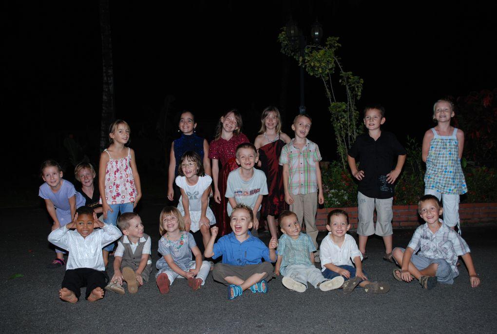 soirée du nouvel an 2010 organisée par l'Amical du RSMA-G