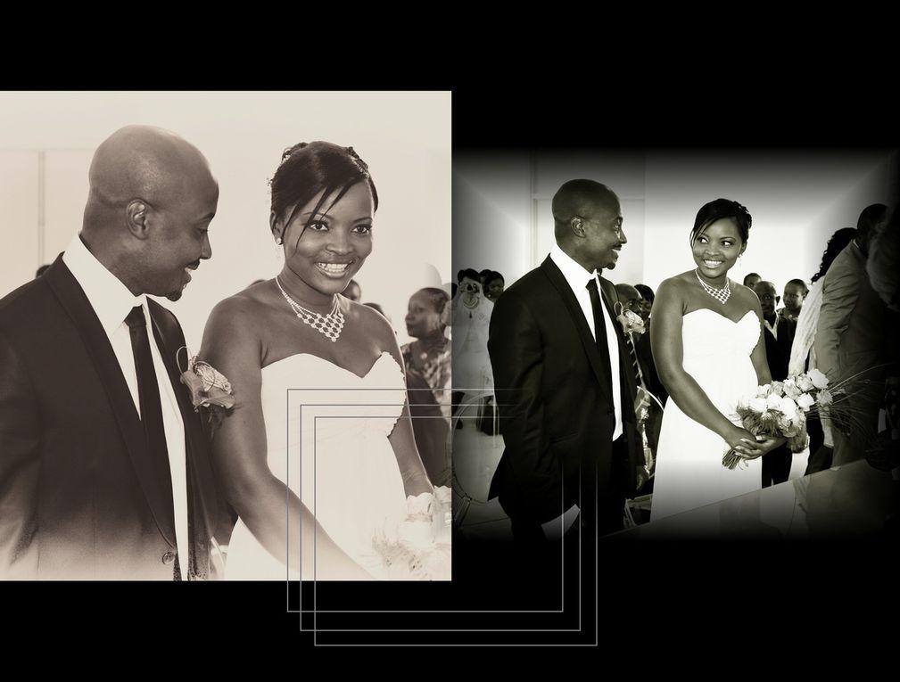 Aperçu de certaines conceptions de montages d'albums de mariages selon les critères des mariés.