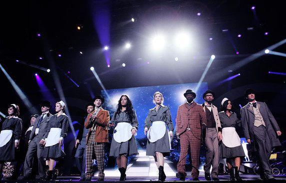 Reportage photo sur les concerts des Enfoirés 2011.photos de TF1
