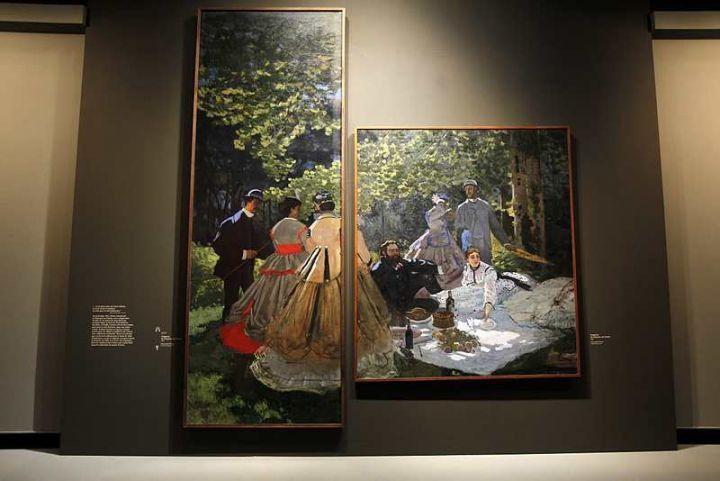 Exposition au Grand Palais, la plus grande expo consacrée au peintre impressionniste. 2010