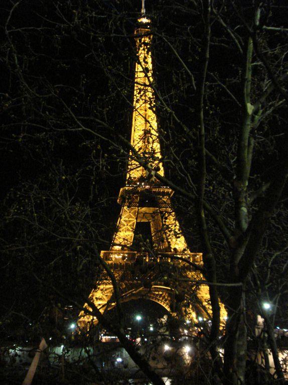 Une promenade dans un Paris pluvieux et froid.