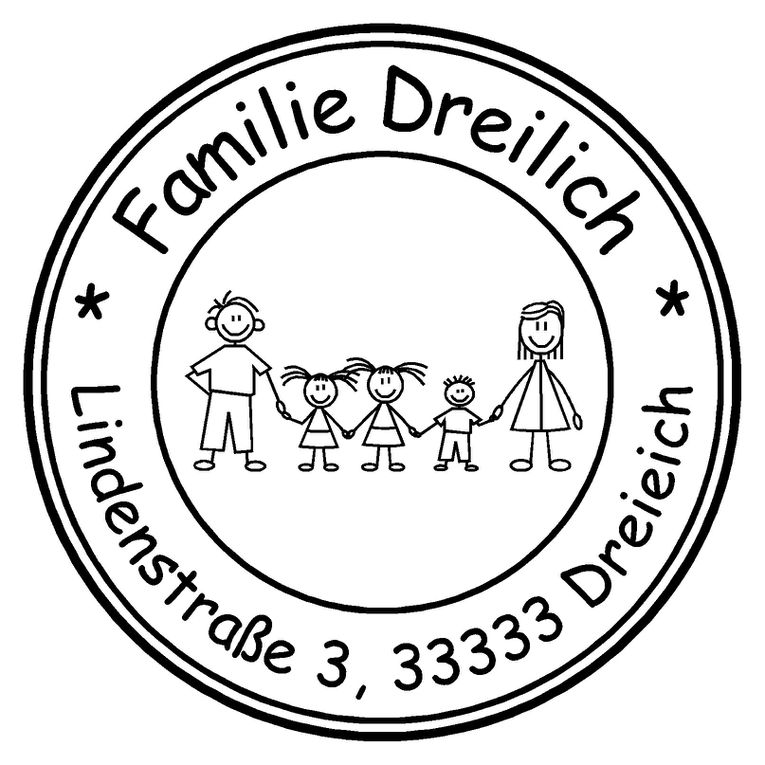 Album - Familienstempel