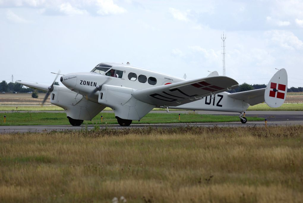 Suite de Hannweide old timers + Paderborn et Roskilde airshow.