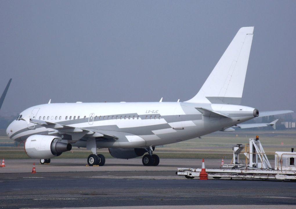 Ce sont les avions de lignes majoritairement prient en Allemagne et en particulier Frankfurt. Plus quelques autres matériels volants ailleurs.