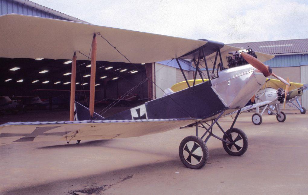 Ce sont la plupart des avions de la première guerre mondiale que j'ai pu voir dans des musées Européens